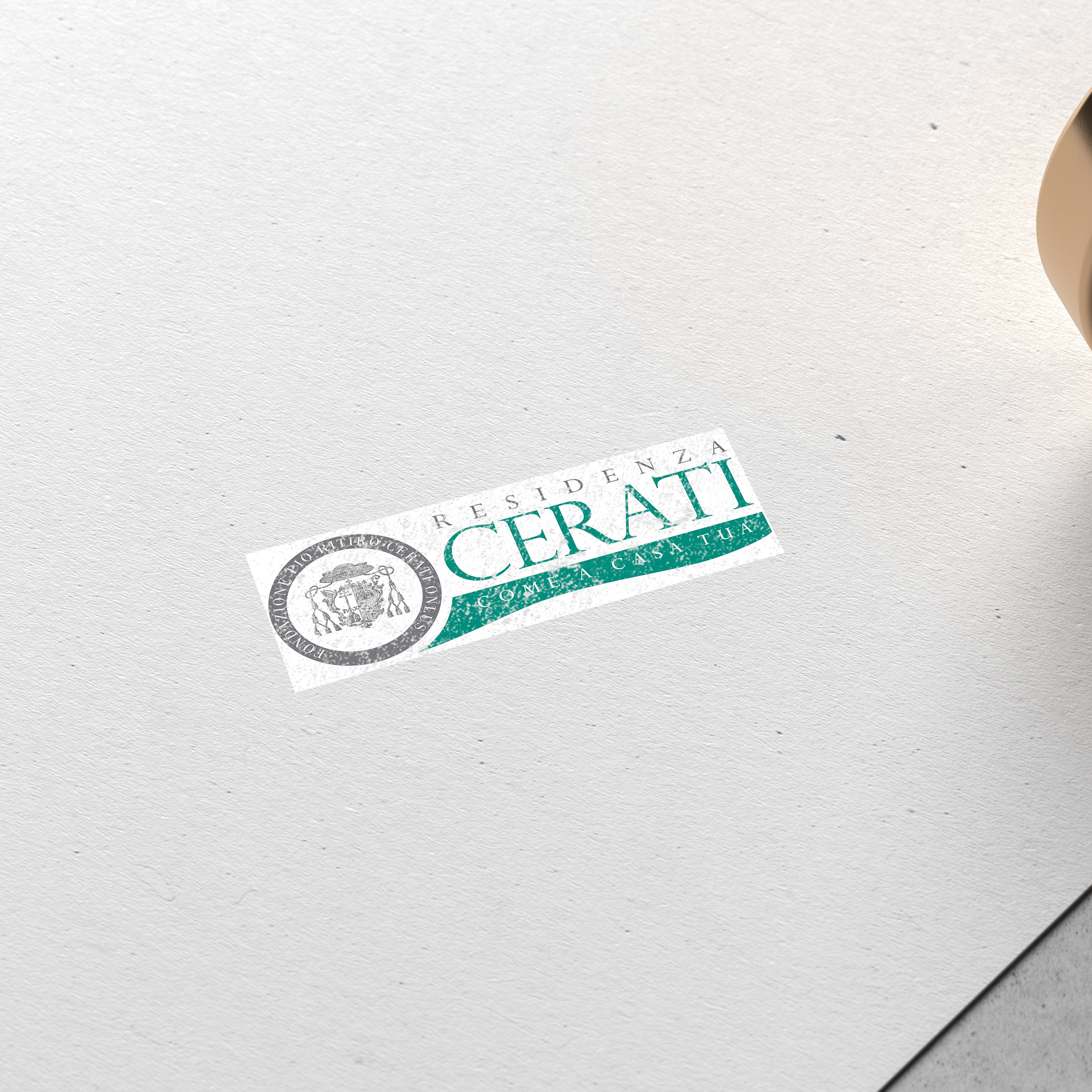 Modern Stamped Logo Mockup by Anthony Boyd Graphics